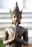 Thai angle statue Royalty Free Stock Image