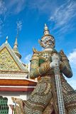 Thai antique giant Royalty Free Stock Photos