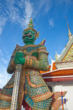 Thai antique giant Stock Photo
