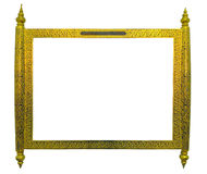 Thai antique sign frame Stock Photography