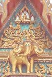 thai apexgaveltempel Arkivbilder