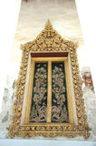 Thai arch entrance to temple Royalty Free Stock Photos