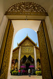 Thai architectural  temple Royalty Free Stock Image