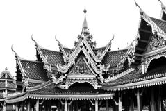 Thai architecture Royalty Free Stock Photos