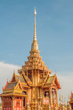 Thai architecture in april 2012. Cremation of her royal highness princess bejaratana Royalty Free Stock Photography