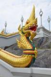 Thai architecture 1. Buddhist temple in Krabi, Thailand Stock Photos