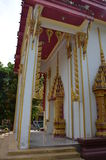 Thai architecture 6. Thai architecture elements - Buddhist temple Royalty Free Stock Image