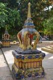 Thai architecture 7. Thai architecture elements - Buddhist temple Stock Image