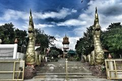 Thai Architecture Royalty Free Stock Photography