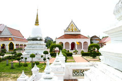 Thai architecture in Wat Pho public temple Royalty Free Stock Photography