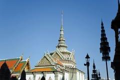 Thai Architecture at Wat Phra Kaew, Grand Palace, Bangkok, Thailand Royalty Free Stock Photo
