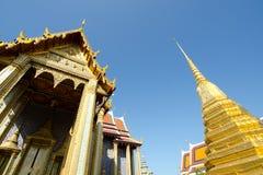 Thai Architecture, Wat Phra Kaew, Grand Palace, Bangkok, Thailand Stock Photos