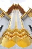 thai arkitekturhörn Royaltyfri Foto
