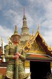 thai arkitekturhertitage Arkivbild