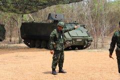 Thai armé Fotografering för Bildbyråer
