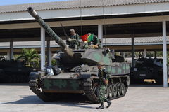 Thai Army Tanks Royalty Free Stock Images