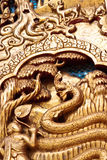 Thai Art. In Thai Temple Stock Image