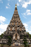 Thai art. At Ja De lang temple Stock Photos