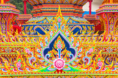Thai art. Product  made  by  foam Stock Photo