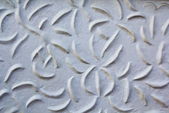 Thai art. Art on the concrete wall Stock Images