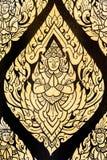 Thai art angel painting Royalty Free Stock Photo