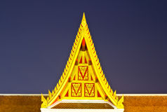 Thai art architecture Royalty Free Stock Image