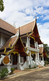 Thai Art and Architecture. Northern Thai Art and Architecture of Building Royalty Free Stock Image