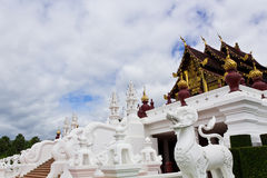 Thai Art and Architecture. Thailand Art and Architecture of Royal Pavilion Stock Photography