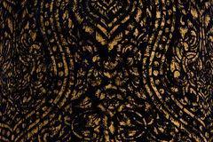 Thai art asia Ancient sculpture texture. And backgroud Stock Photos