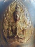 Thai art bronze angel Stock Image