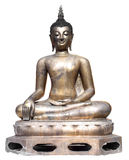 Thai art bronze buddhist statue Royalty Free Stock Photography