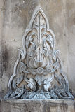 Thai art. On cement wall Stock Images