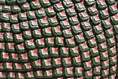 Thai art decorative pattern royalty free stock image