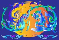 Thai art design Stock Images