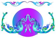 Thai art design Stock Image
