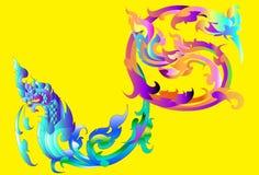 Thai art design Royalty Free Stock Photo