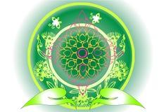 Thai art design Stock Photo