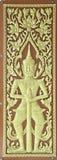 Thai art with door Stock Photo
