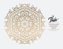 Thai art element for design. Royalty Free Stock Images