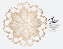 Thai art element for design. Stock Images