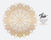 Thai art element for design. Royalty Free Stock Photography