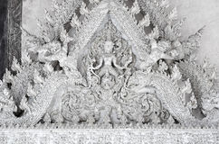 Thai art gable. Royalty Free Stock Photos