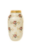 Thai art, handmade flowers vase Royalty Free Stock Photos