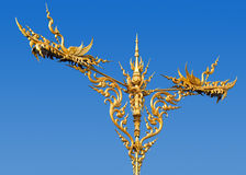 Thai art lamppost. Royalty Free Stock Photography