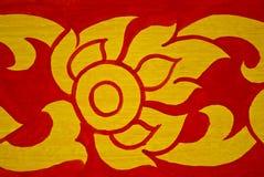 Thai Art (Lotus) Royalty Free Stock Photos