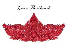 Thai art ornament element. Decorative motifs. Ethnic Art. vector illustration Stock Photography