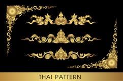 Thai art pattern  Royalty Free Stock Photo