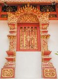 Art Thai Pattern. Thai art and pattern for temple in Chiang Rai Thailand royalty free stock photography