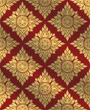 Thai art pattern,Traditional Thai background,line Thai vector Stock Image