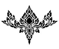 Thai art pattern vector Royalty Free Stock Photo
